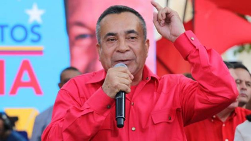 Image result for Bolivar state Governor Justo Noguera