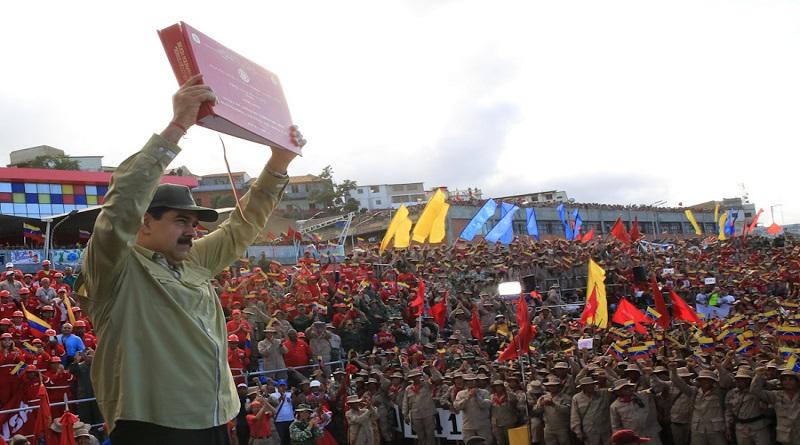 Venezuela's Civilian Militia Surpasses Target, Reaches 3.3 Million