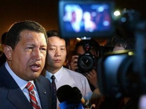 Chavez in Beijing