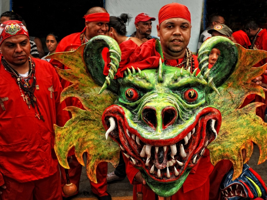 Venezuela's Dancing Devils Receive Country's First ...