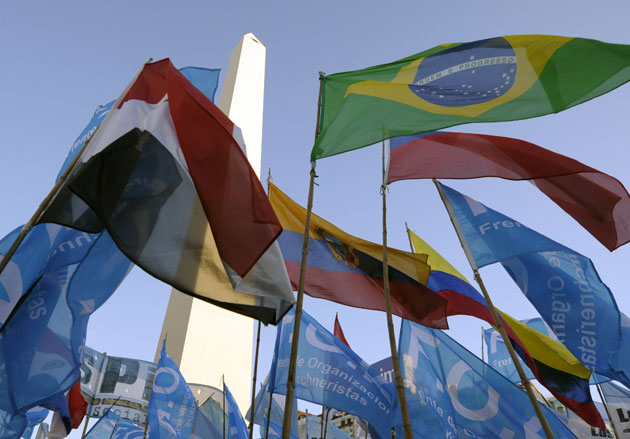 venezuela and mercosur trade blocs It is now a full customs union and a trading bloc mercosur and the andean community of nations are  intra-mercosur merchandise trade (excluding venezuela) .