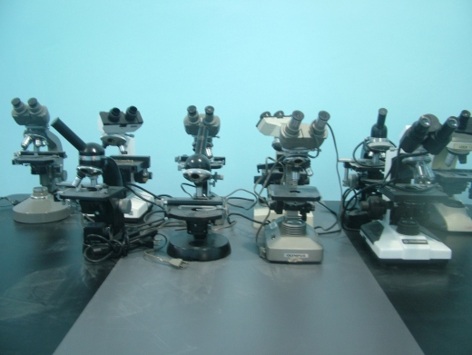 Some of the CTIDIPO microscope prototypes (Tamara Pearson / Venezuelanalysis.com)