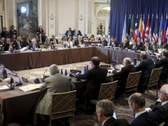 The meeting of foreign ministers of the TIAR countries voted to invoke the treaty against Venezuela. (AP)