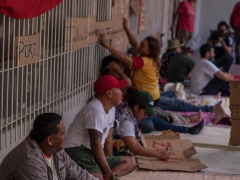 The campesinos from the Admirable March announced a hunger strike on Tuesday