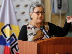 CNE President Tibisay Lucena said electoral authorities have solicited the presence of a United Nations electoral observation team in upcoming presidential elections