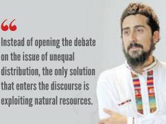 Emiliano Teran Mantovani studied sociology in Caracas' Universidad Central de Venezuela.