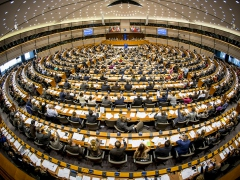 The European Parliament. (Archive)