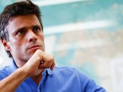 Harvard-educated Leopoldo Lopez belongs to one of Venezuela's wealthiest families