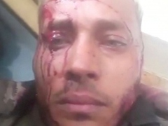 The leader of the cell, Oscar Perez, published a series of videos on social media during the confrontation. (Reuters)