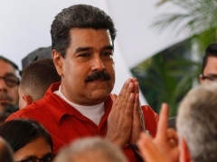 Canada sanctioned Venezuela's president Nicolas Maduro and other high‐ranking Venezuelan officials in November.