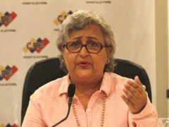 CNE President Tibisay Lucena made the announcement on Thursday