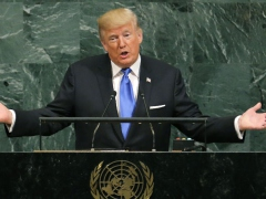 Trump addresses the UN General Assembly