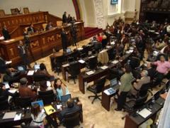 Venezuela's Legislature, the National Assembly (Asamblea Nacional)