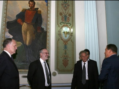 President Chavez met with leaders of the World Jewish Congress