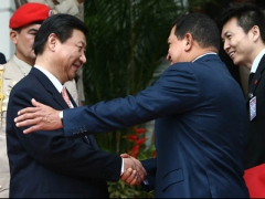President Chavez welcomes China's Vice-President