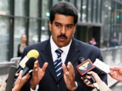 Foreign Minister Nicolas Maduro (Archive)