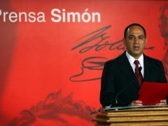 Communication and Information Minister Jesse Chacón announced the changes in Chavez's cabinet.