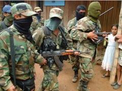 Paramilitary troops on Venezuela's border (YVKE archive)