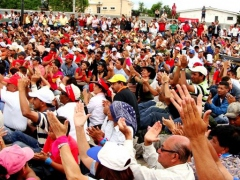 A concert against the coup and military repression in Honduras on 11 July (National Front Against the Coup)