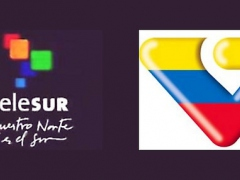 Telesur and VTV (Archive)
