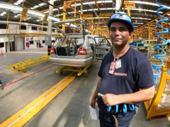 An automobile assembly plant in Venezuela (YVKE)