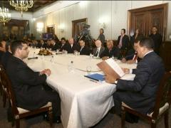 President Chavez and his Cabinet (Francisco Batista/Prensa Presidencial)