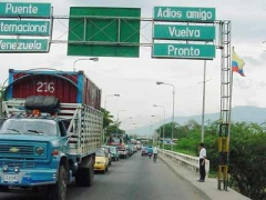 Simon Bolivar International Bridge on the Venezuela-Colombia Border (YVKE)