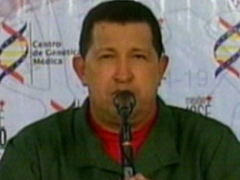 "President Hugo Chavez on his Sunday talk show, ""Alo Presidente"" (VTV)"