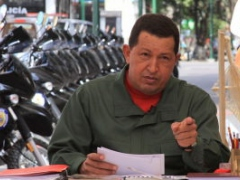 President Chavez on his Sunday talk show, Alo Presidente (Alo Presidente)