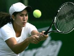 Venezuelan tennis player Adriana Perez