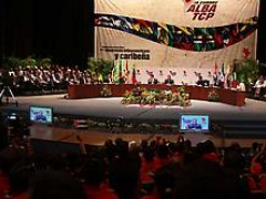 Closing Ceremony of the ALBA Summit (Agencias)