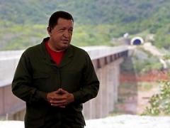"President Chavez during ""Alo Presidente"" (RNV)"