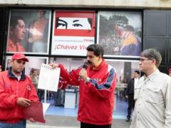 Maduro economic announcement