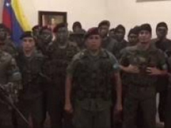 Captain Caguaripano circulated video with civilians in military uniforms