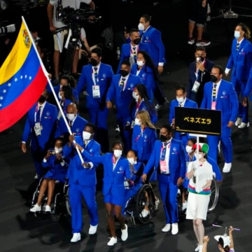 Venezuela's 26 athletes delegation has obtained a total of 13 paralympic diplomas so far.  (Twitter / @Gabycolmenaress)