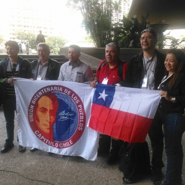 Venezuelans and Chileans denounced shared history of US aggression