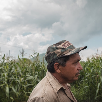 Local producers have voiced concerns that mining activities could endanger agricultural production. (Marcelo Volpe)