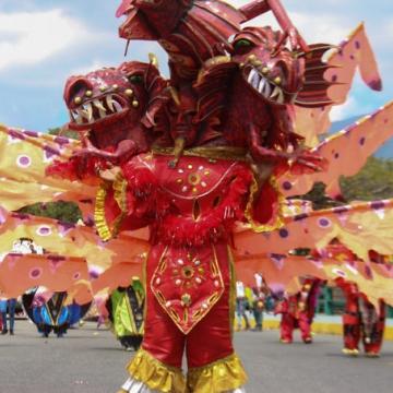 Dancing Devils in Carnival