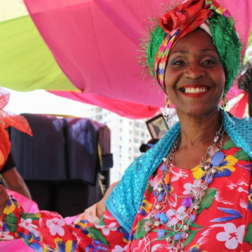 Smiling faces at Carnival 2018