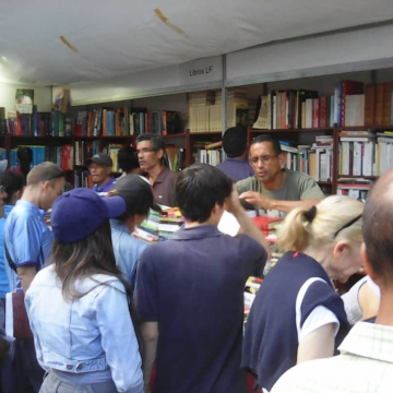 Locals scrambled to buy the low-cost books