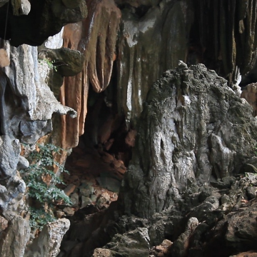Some of the caves are also used for spiritual rituals. (Katrina Kozarek).