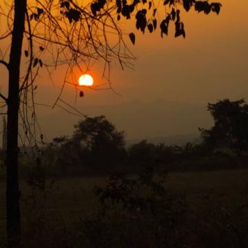 Sunset in El Maizal. (Jota, Terra TV)