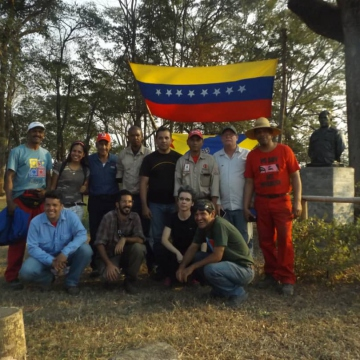 The Productive Workers' Army in El Maizal Commune, Feb 4 through 9. (Jota, Terra TV)