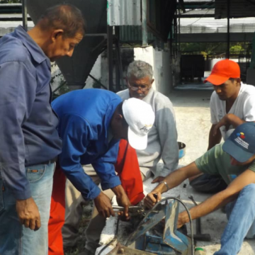 The Productive Worker's Army in El Maizal Commune, Feb 4 through 9. (Jota, Terra TV)