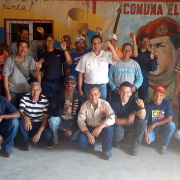 """This was the thirteenth """"battle"""" of the Productive Workers' Army, this time in El Maizal Commune (Jota, Terra TV)"""