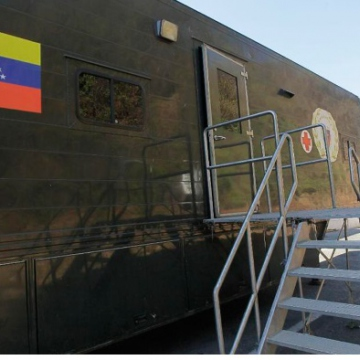 Temporary medical units have been set up with the help fo the armed forces in some regions, such as this one in Lara State. (La Prensa de Lara)