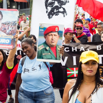 Mobilization in defense of constitutional President Nicolás Maduro