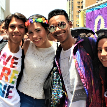"LGBTQI youth are all about being ""Out and Proud"""