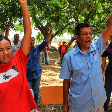 Anniversary of El Maizal Commune: Popular movements joined the celebration