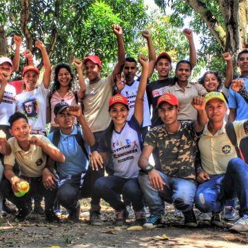 Anniversary of El Maizal Commune:  Communal youth
